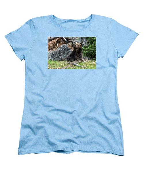 Grizzly Manor Women's T-Shirt (Standard Cut) by Scott Warner