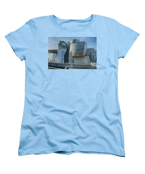 Guggenheim Museum Bilbao Spain Women's T-Shirt (Standard Cut) by James Hammond
