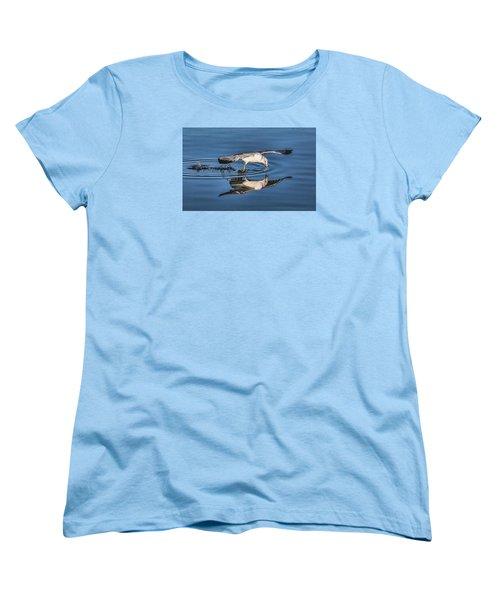 Gull Reflection Women's T-Shirt (Standard Cut) by Susi Stroud