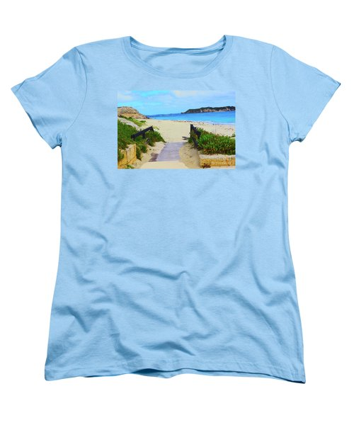 Hamelin Bay Women's T-Shirt (Standard Cut) by Cassandra Buckley