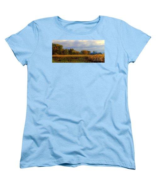 Harvest Women's T-Shirt (Standard Cut) by Elfriede Fulda