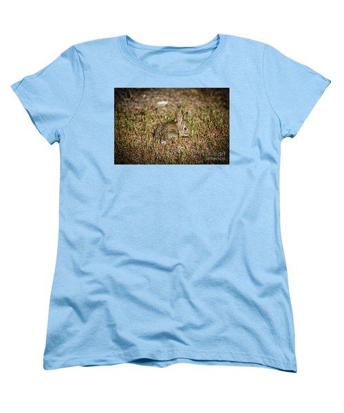 Women's T-Shirt (Standard Cut) featuring the photograph Here I Am by Robert Bales