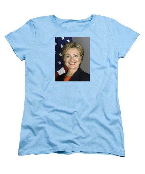 Hillary Clinton Women's T-Shirt (Standard Cut) by War Is Hell Store