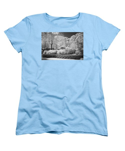 White Forrest Women's T-Shirt (Standard Cut) by Denis Lemay