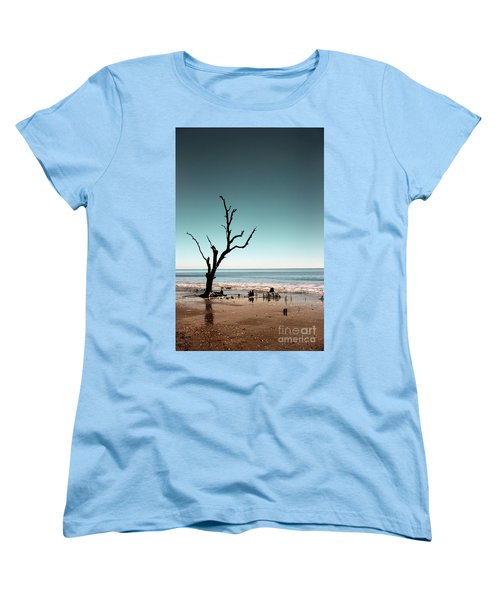 Women's T-Shirt (Standard Cut) featuring the photograph I Can Be Free by Dana DiPasquale