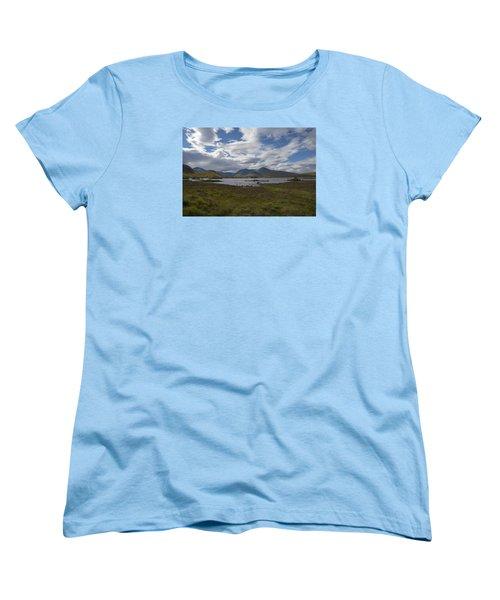 Women's T-Shirt (Standard Cut) featuring the photograph In Glencoe Uk by Dubi Roman