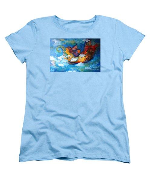 Inner Dream Women's T-Shirt (Standard Cut) by Sanjay Punekar