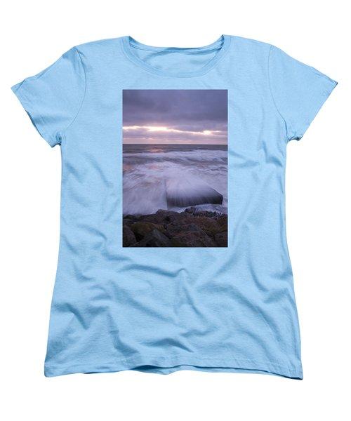 Women's T-Shirt (Standard Cut) featuring the photograph Irish Dawn by Ian Middleton