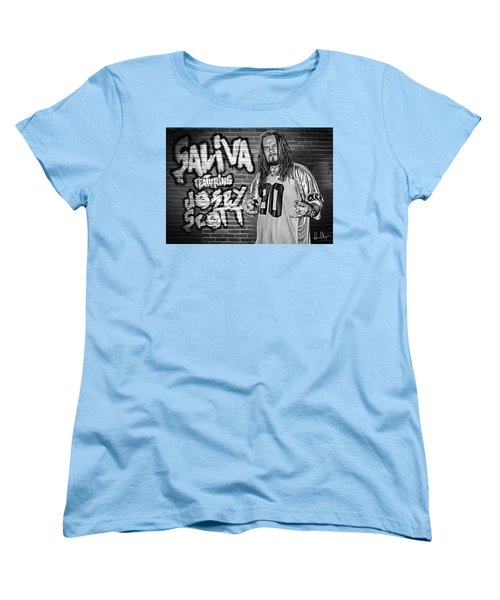 Josey Scott Saliva Women's T-Shirt (Standard Cut) by Don Olea