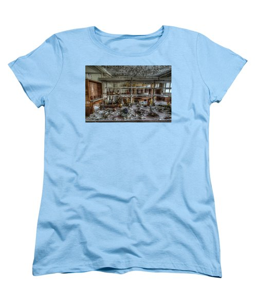 Women's T-Shirt (Standard Cut) featuring the digital art Lab 1 by Nathan Wright