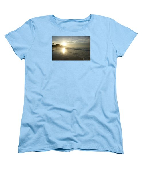 Women's T-Shirt (Standard Cut) featuring the photograph Long Beach Kogalla by Christian Zesewitz