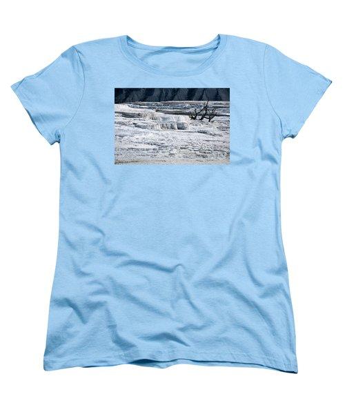 Mammoth Terraces Women's T-Shirt (Standard Fit)