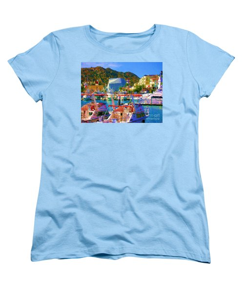 Marina Towards Pedregal Women's T-Shirt (Standard Cut)