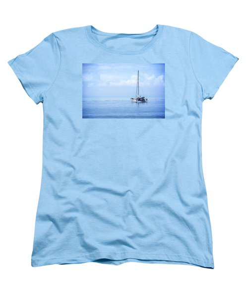 Morning Sail Women's T-Shirt (Standard Cut) by James Hammond