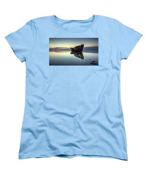 Motueka Sunrise 1 Women's T-Shirt (Standard Cut) by Brad Grove