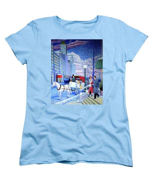 Nightfall Women's T-Shirt (Standard Cut) by Tracy Dennison