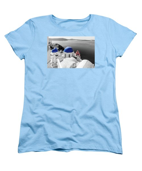 Oia, Santorini - Greece. Women's T-Shirt (Standard Cut)