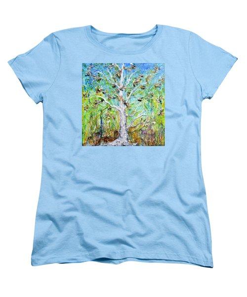 Old Growth Women's T-Shirt (Standard Cut) by Regina Valluzzi