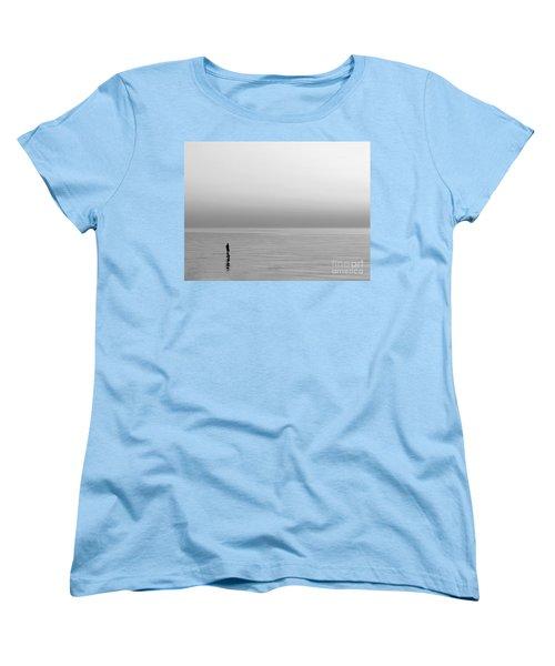 One Man Women's T-Shirt (Standard Cut) by Dana DiPasquale