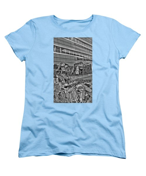 Out Of Phase 2 Women's T-Shirt (Standard Cut) by Andy Lawless