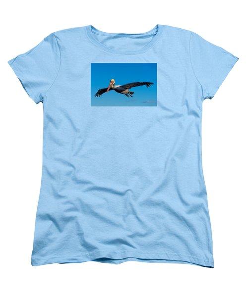 Pelican Women's T-Shirt (Standard Cut) by Derek Dean