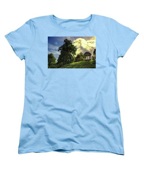Petworth House Women's T-Shirt (Standard Cut) by Martin Newman