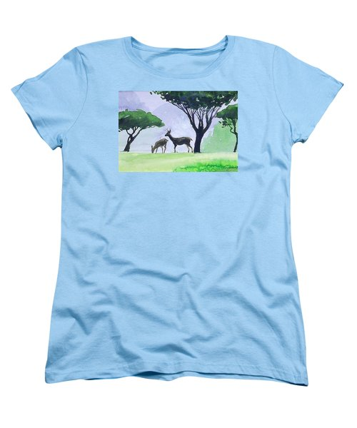 Point Lobos Women's T-Shirt (Standard Cut) by Ed Heaton