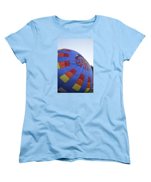 Women's T-Shirt (Standard Cut) featuring the photograph Preparing For Lift Off by Linda Geiger