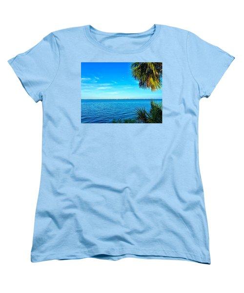 Private Paradise Women's T-Shirt (Standard Cut) by Carlos Avila