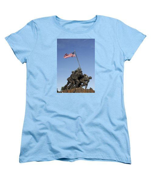 Raising The Flag On Iwo - 799 Women's T-Shirt (Standard Cut) by Paul W Faust -  Impressions of Light