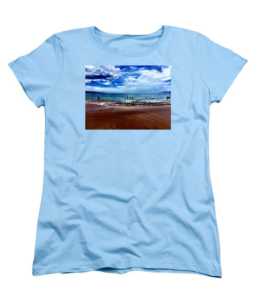 Women's T-Shirt (Standard Cut) featuring the photograph Relax by Michael Albright
