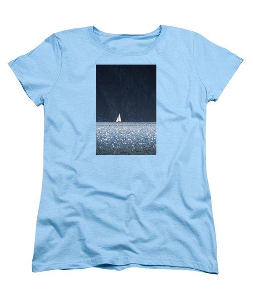 Sailboat Women's T-Shirt (Standard Cut) by Chevy Fleet