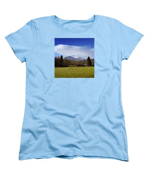 Women's T-Shirt (Standard Cut) featuring the photograph Scottish Scenery by Jeremy Lavender Photography