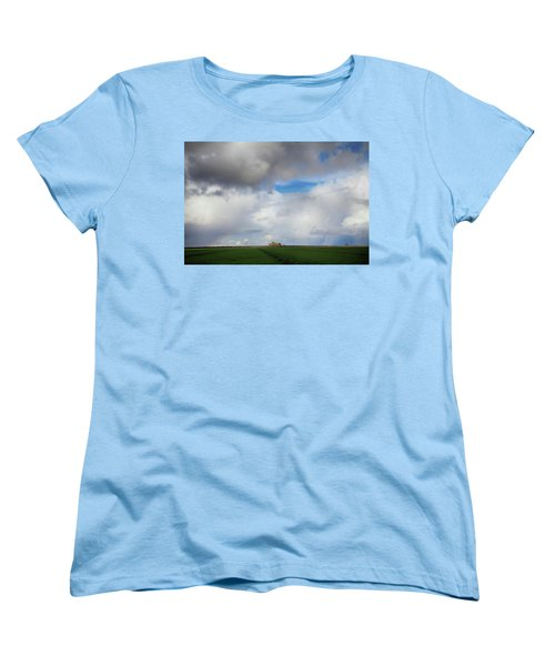 Women's T-Shirt (Standard Cut) featuring the photograph Skyward by Laurie Search