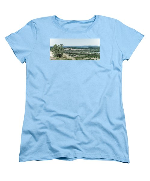 Women's T-Shirt (Standard Cut) featuring the photograph Sleeping Bear Dunes National Lakeshore by Alexey Stiop