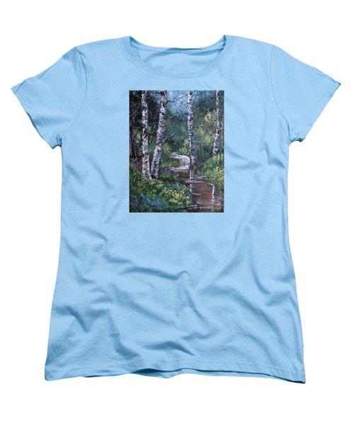 Solitude Women's T-Shirt (Standard Cut) by Megan Walsh