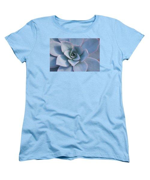 Succulent Beauty Women's T-Shirt (Standard Cut) by Catherine Lau