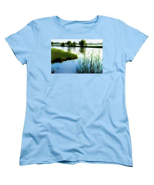 Summer Dreams Women's T-Shirt (Standard Cut) by Betty LaRue