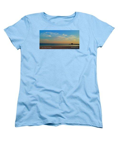 Sunset Women's T-Shirt (Standard Cut) by Janice Spivey