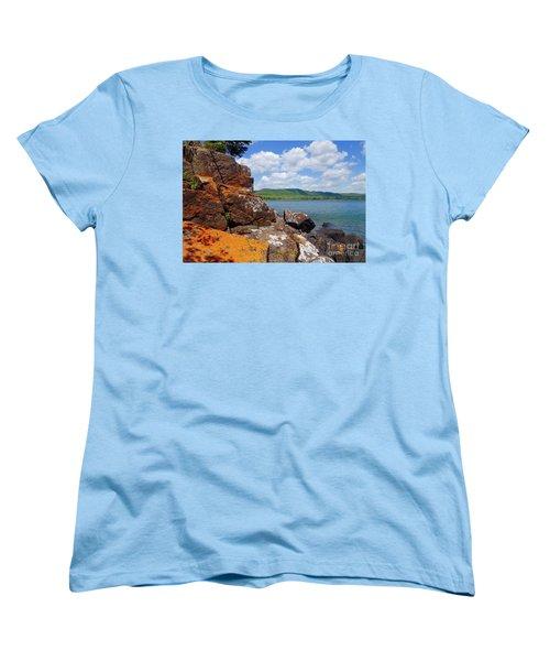 Superior Lichens Women's T-Shirt (Standard Cut) by Sandra Updyke