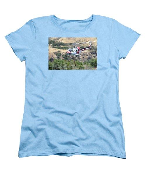 Taking Off Women's T-Shirt (Standard Cut) by Shoal Hollingsworth