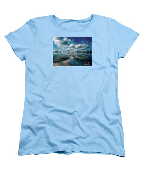 Women's T-Shirt (Standard Cut) featuring the photograph The Dream by Elfriede Fulda