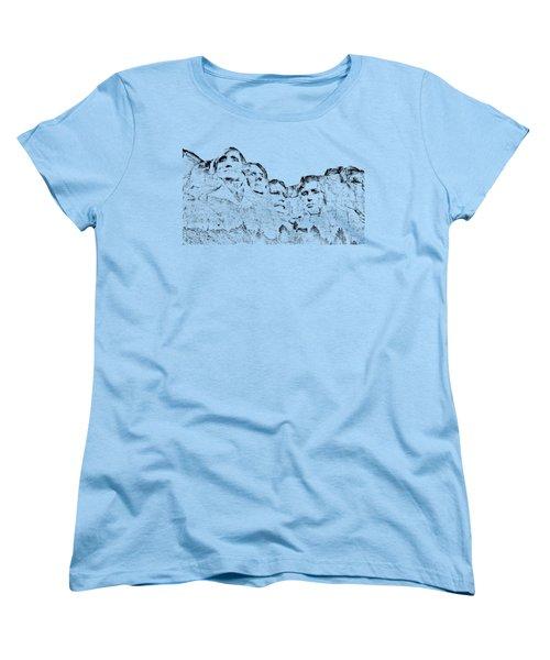 The Four Presidents Women's T-Shirt (Standard Cut)