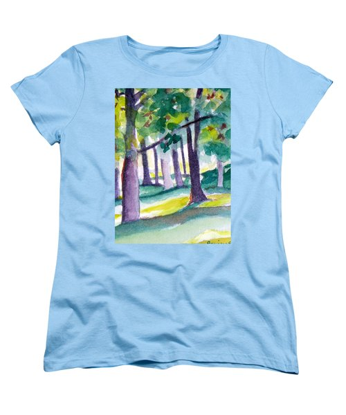 The Perfect Day Women's T-Shirt (Standard Cut) by Jan Bennicoff