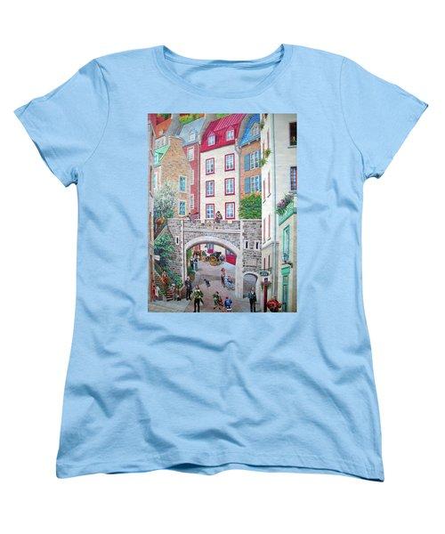 Women's T-Shirt (Standard Cut) featuring the photograph Time ... by Juergen Weiss