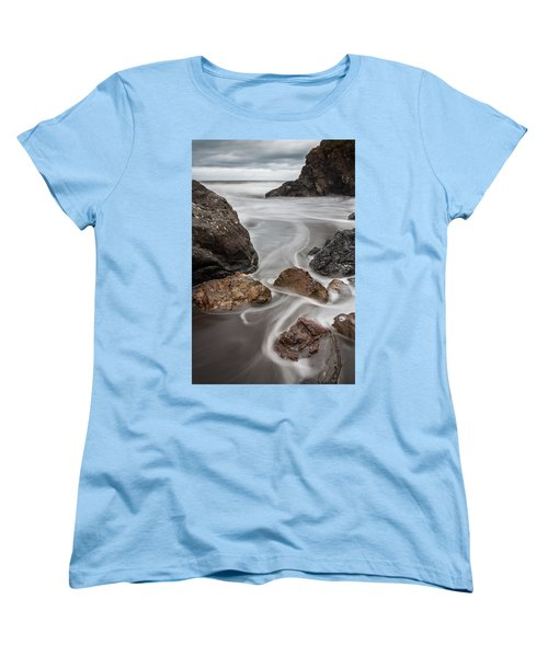 Time And Tide Women's T-Shirt (Standard Cut) by Mark Alder