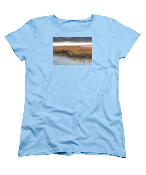 Tranquility Women's T-Shirt (Standard Cut) by Elizabeth Eldridge