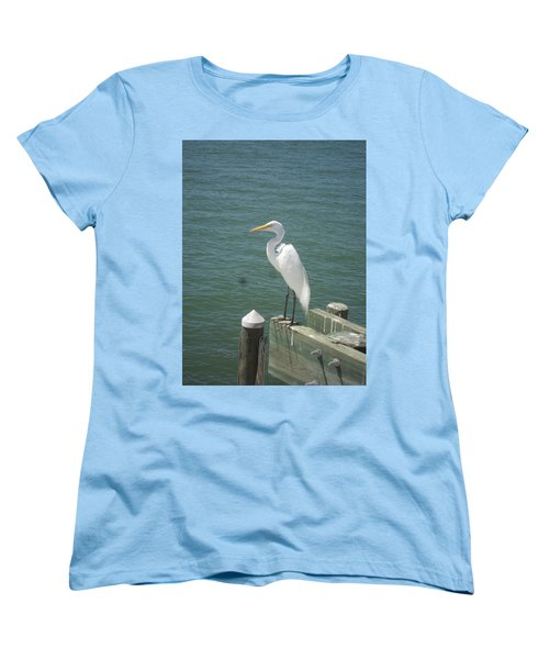 Tranquility Women's T-Shirt (Standard Cut) by Val Oconnor