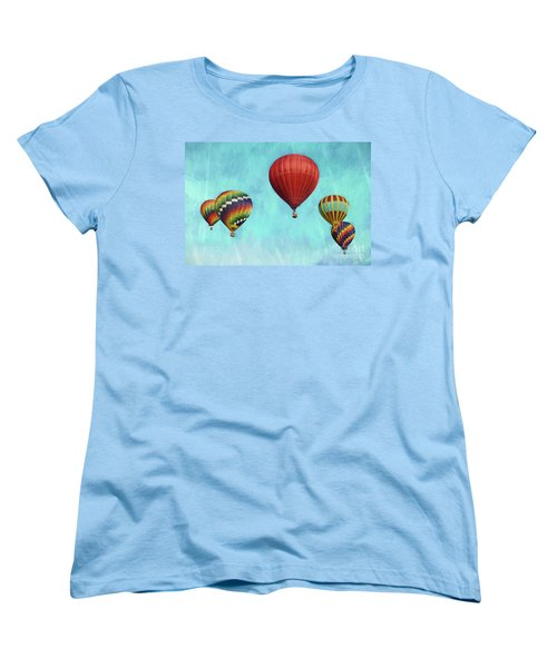 Women's T-Shirt (Standard Cut) featuring the photograph Up Up And Away 2 by Benanne Stiens