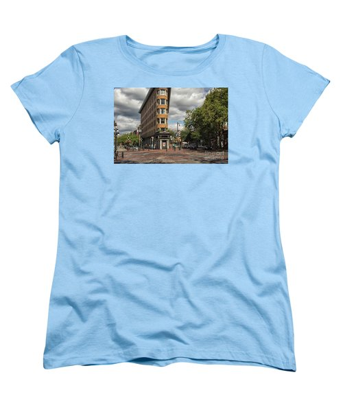 Vancouver City Life Women's T-Shirt (Standard Cut) by Patricia Hofmeester